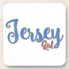 Jersey Girl Diamond design Coaster