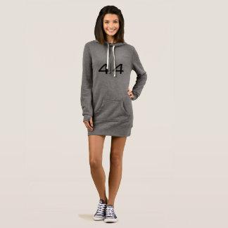 Jersey hoodie dress