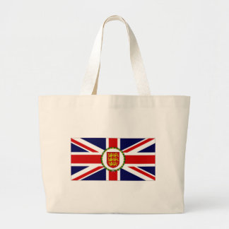Jersey Lieutenant Governor Flag Canvas Bags