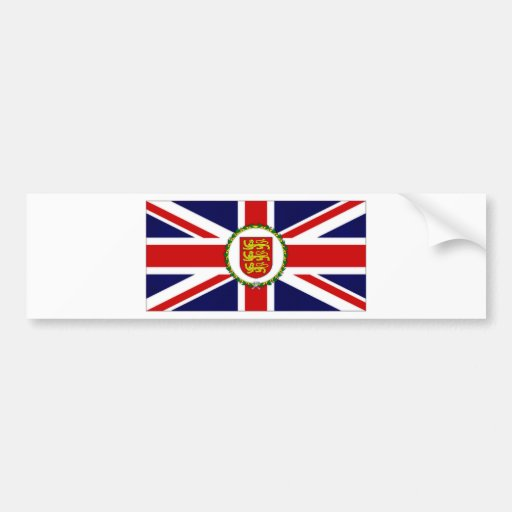 Jersey Lieutenant Governor Flag Bumper Stickers