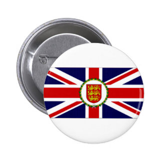 Jersey Lieutenant Governor Flag Pinback Button