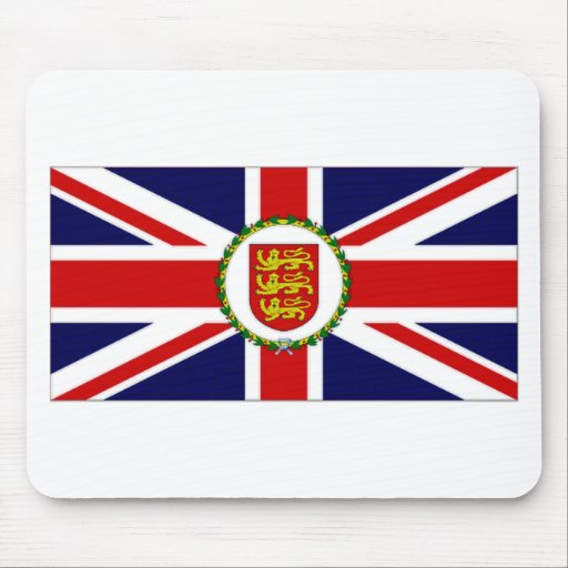 Jersey Lieutenant Governor Flag Mouse Pad