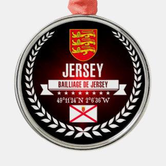 Jersey Metal Ornament
