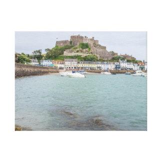 Jersey Mont Orgueil Castle canvas print