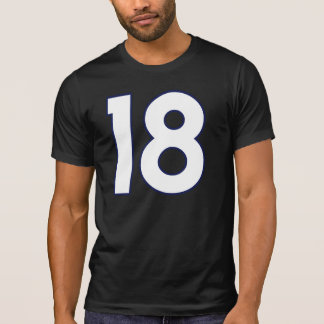 Jersey Number 18 T-Shirt