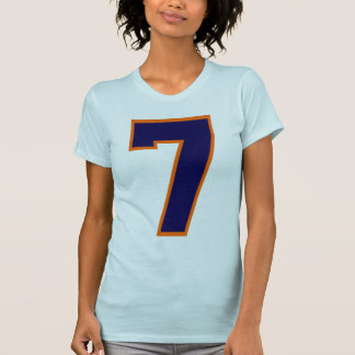JERSEY NUMBER 7 T-Shirt
