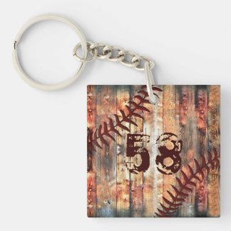Jersey Number or Monogram Keychains for Men