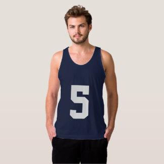 Jersey Number Tank Top