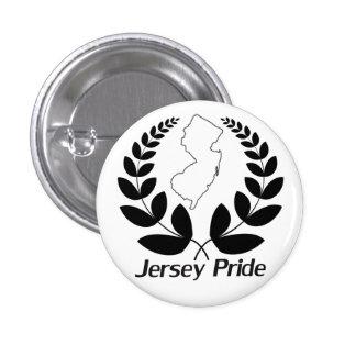 Jersey Pride 1 Inch Round Button