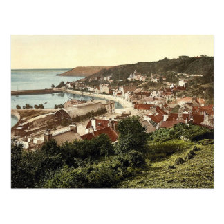Jersey, Saint Aubins, Channel Islands, England vin Postcard