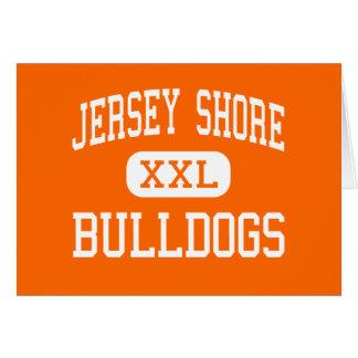 Jersey Shore - Bulldogs - Senior - Jersey Shore Greeting Card