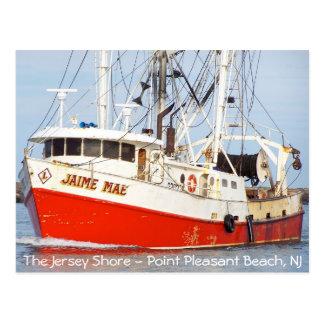 Jersey Shore - Pt. Pleasant Beach - Jaime Mae Postcard