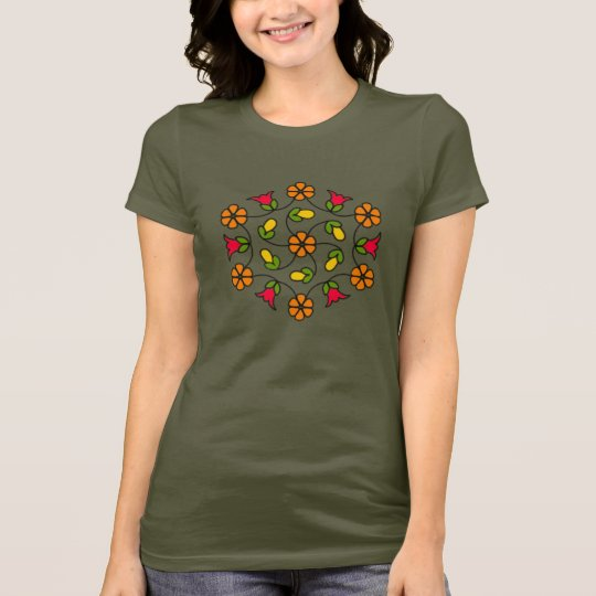 Jersey T-Shirt-Flower Series#63 T-Shirt