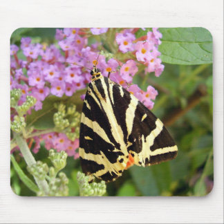 Jersey Tiger Butterfly Mouse Mat