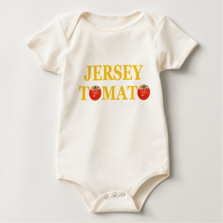 Jersey Tomato Baby Creeper