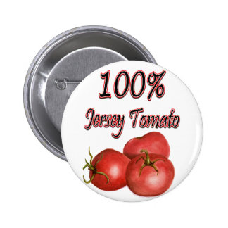Jersey Tomatoes 100% 2 Inch Round Button