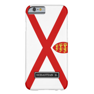 Jersey U.K. flag Barely There iPhone 6 Case