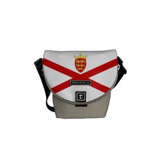 Jersey U.K. flag Commuter Bags