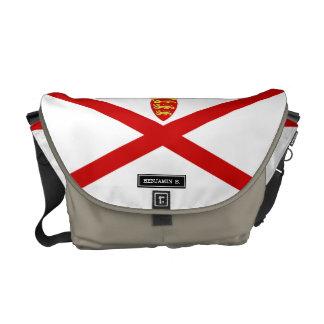 Jersey U.K. flag Courier Bag