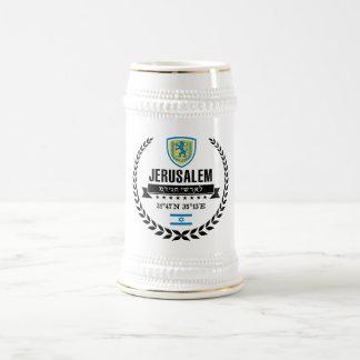 Jerusalem Beer Stein