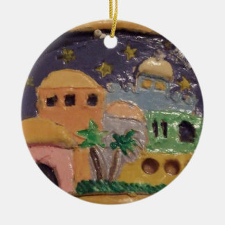 Jerusalem by Night Ornament