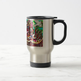 Jerusalem by Sandra Silberzweig Travel Mug