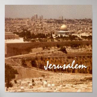 Jerusalem City of Gold Print