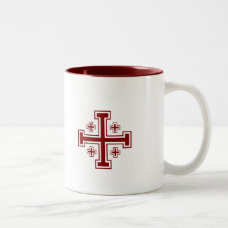 Jerusalem Cross Mug