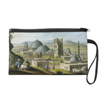 Jerusalem from the West, pub. by William Watts, 18 Wristlet Purse