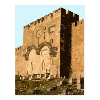 Jerusalem - Gate of Mercy Postcard
