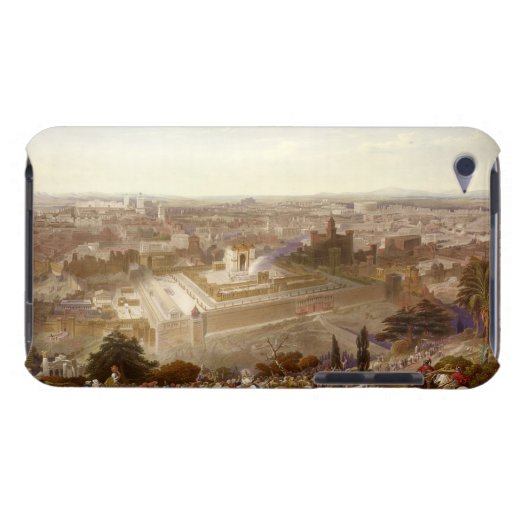 Jerusalem in her Grandeur, engraved by Charles Mot Barely There iPod Covers