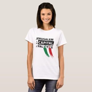 Jerusalem is the capital of Palestine T-shirt