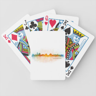 Jerusalem Israel City Skyline Bicycle Playing Cards