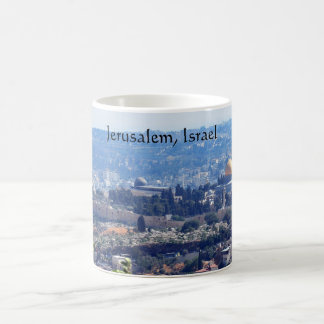 Jerusalem, Israel coffee mug