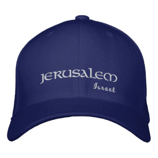 Jerusalem Israel Embroidered Hat