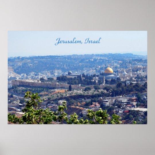 Jerusalem, Israel Poster