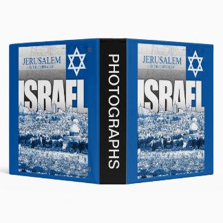 Jerusalem, Israel Vinyl Binders