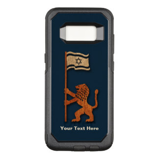 Jerusalem Lion With Flag OtterBox Commuter Samsung Galaxy S8 Case