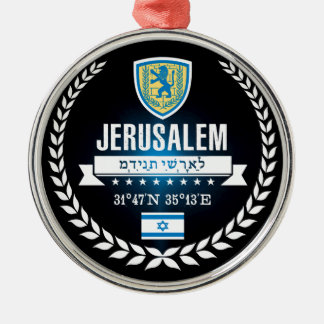Jerusalem Metal Ornament