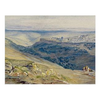 Jerusalem Postcard