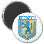 Jerusalem t arms, Italy 2 Inch Round Magnet