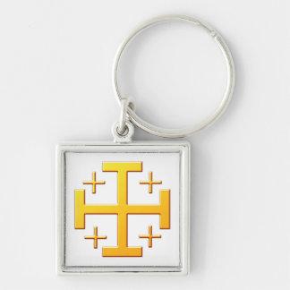 Jerusalemkreuz CROSS Jerusalem Keychain