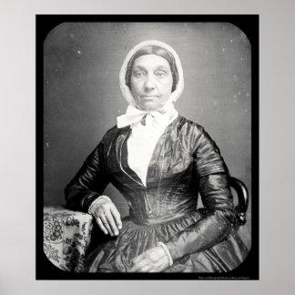 Jerusha Field Daguerreotype 1846 Poster