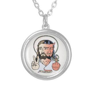 Jesifer Silver Plated Necklace