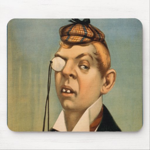 Jess of the Bar Z - Lord Archibald Cunningham Mousepad