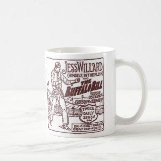 Jess Willard 1917 Heavyweight Champ Buffalo Bill Coffee Mug