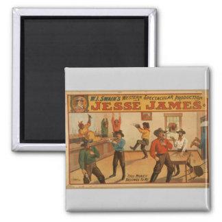 Jesse James, 'This Money Belongs to me' Vintage Th Magnet