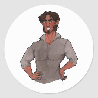 Jesse McCree Classic Round Sticker