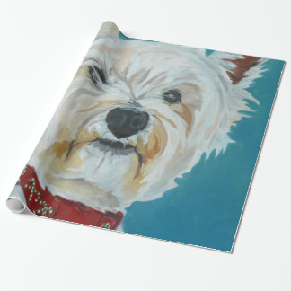Jesse the Westie Wrapping Paper