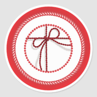 Jesse Tree Scarlet Thread Sticker